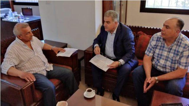 أسامة سعد مستقبلاً رئيس المنطقة التربوية في الجنوب: تأمين التعليم الرسمي للجميع بنوعية جيدة واجب على الدولة وحق لكل طالب
