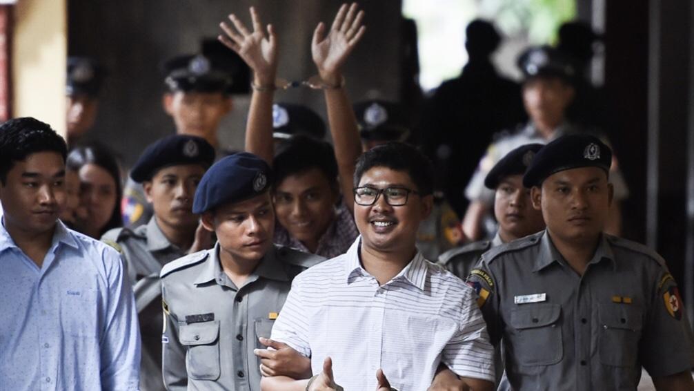 «يوم حزين للصحافة»: السجن لصحافيين في ميانمار