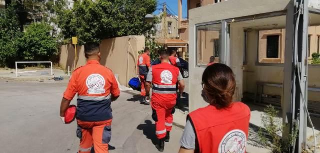 مؤسسة معروف سعد تتابع أنشطتها الإغاثية والأسعافية في بيروت