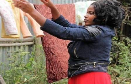 إثيوبية بلا طعام أوشراب من 9 أعوام
