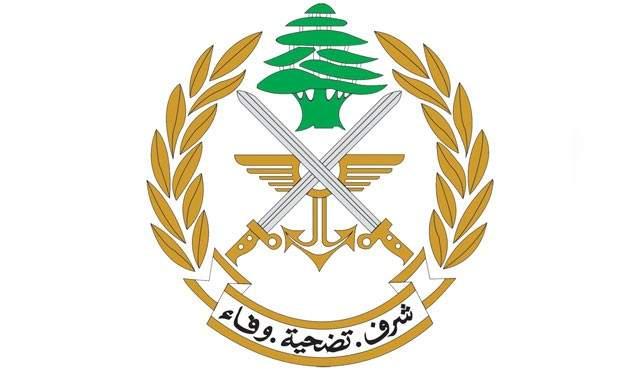 الجيش: إزالة أنابيب تستخدم لتهريب مادة المازوت عند الحدود اللبنانية السورية