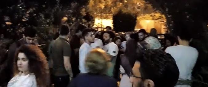 توافد اساتذة الجامعة اللبنانية بكثافة الى مركز الرابطة، في محلة بئر حسن