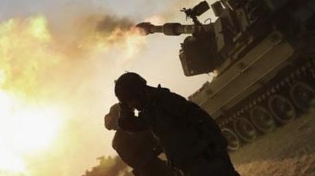 قوات الاحتلال تقصف موقعين للمقاومة شمال قطاع غزة