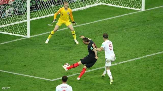 كرواتيا تكتب التاريخ وتبلغ نهائي المونديال على حساب إنجلترا
