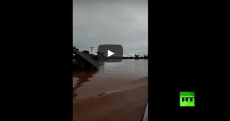 19 قتيلا وآلاف العالقين والمفقودين إثر انهيار سد في لاوس