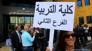 مظاهرة في  بيروت ضد المحارق