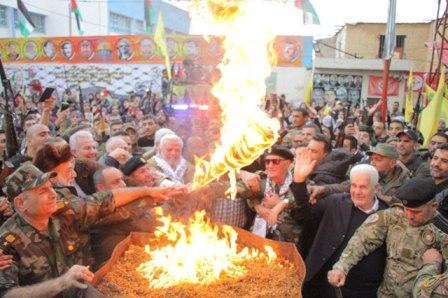 حركة فتح - منطقة صيدا تضيء شعلة إنطلاقتها الرابعة والخمسين