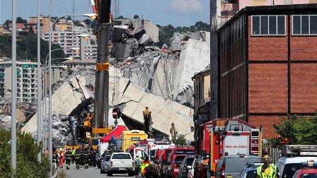 مأساة انهيار جسر جنوة في ايطاليا... هذه هي المحصلة النهائية للضحايا