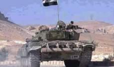 الجيش السوري عثر على مدرعة اميركية الصنع  في احدى مراكز داعش