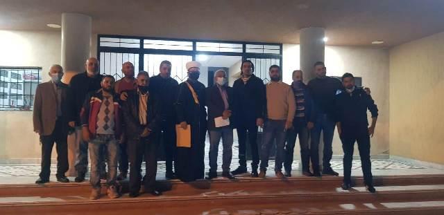 أسامة سعد يستقبل وفدا من لجنة منطقة الفوار- تلة مارالياس