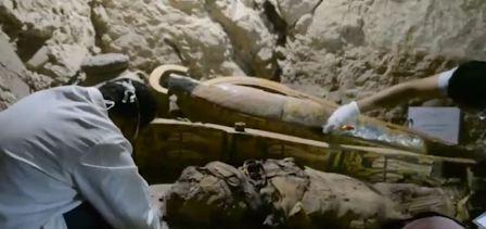 اكتشاف أثري جديد في مصر
