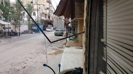 بالصور: اشكال عائلي في مخيم عين الحلوة تطور الى اطلاق نار