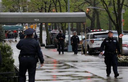 إخلاء قنصلية فرنسا في نيويورك بسبب سيارة مشبوهة
