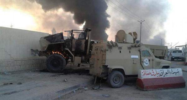 ثمانية قتلى بينهم ستة عسكريين في كمين لداعش شمال بغداد