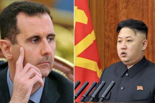 رسالة من بشار الأسد إلى كيم جونغ أون