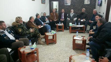 اللجنة الأمنية الفلسطينية العليا ناقشت الاوضاع داخل عين الحلوة