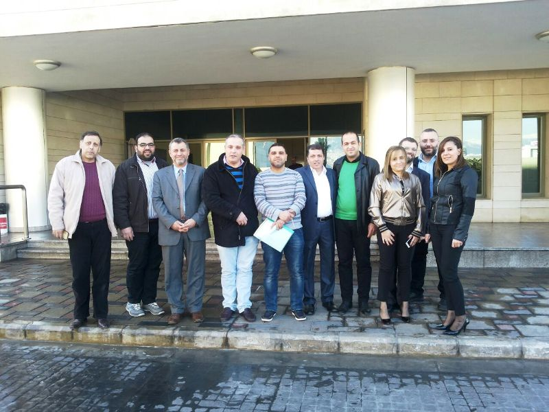 عاملو المستشفيات الحكومية عرضوا مع مستشار حاصباني أوضاعهم