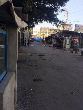 تجدد الاشتباكات في مخيم عين الحلوة وسقوط اصابات