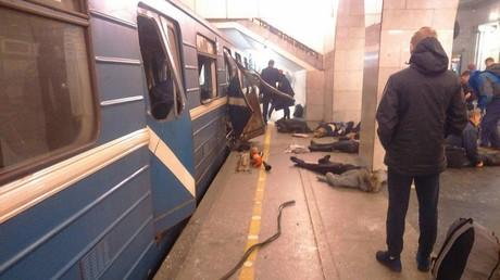 كاميرات المراقبة في مترو بطرسبورغ التقطت صورا للمشتبه به في تنفيذ التفجير