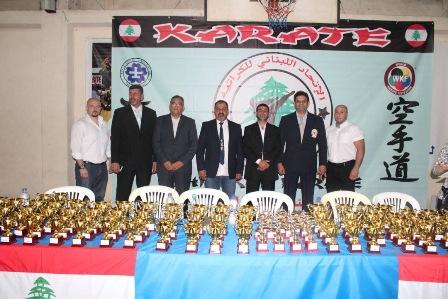 بطولة لبنان في الكاراتيه شيدوكان 2017 نظمها نادي شباب صيدا بمشاركة 120 لاعبا