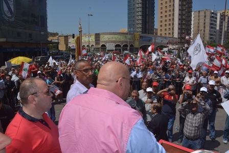 اعتصام في طرابلس لمتقاعدي القوى المسلحة لعدم انصافهم في السلسلة