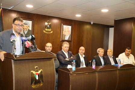 مؤتمر صحافي في مناسبة مرور 10 سنوات على احداث مخيم نهر البارد دبور: لاقرار مراسيم تجيز للاجئ الفلسطيني العمل