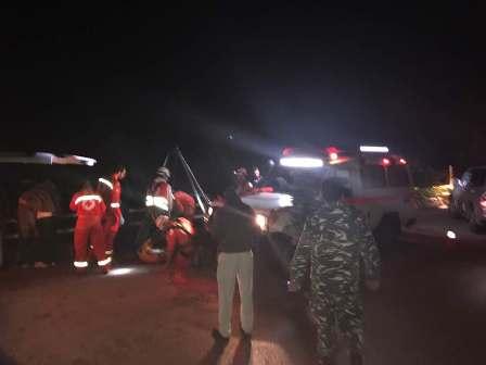 جريح بحادث سير على جسر بزبدين المتن