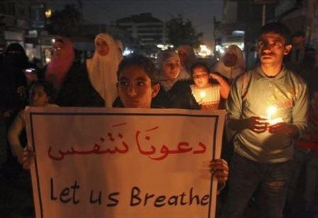 العدو الإسرائيلي ينوي تخفيض حصة قطاع غزة من الكهرباء