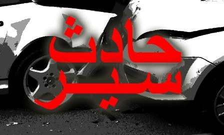 حادث سير على دوار العربي في صيدا