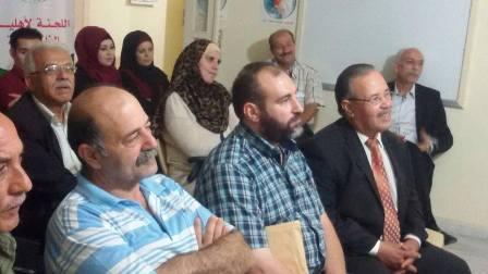 السجل الثقافي بالتعاون مع اللجنة الفلسطينية لتكريم الشهداء يقيمان امسية شعرية