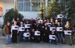 موظفو وعمال أوجيرو في صور واصلوا اضرابهم المفتوح