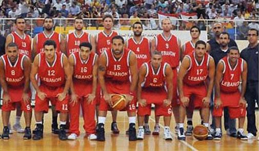 منتخب لبنان للناشئين في كرة السلة يشارك بالبطولةالعربية في الاسكندرية