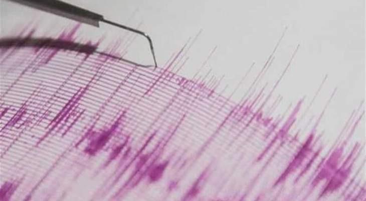 زلزال ضرب جنوب غربي إيران شرق الأهواز