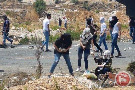 مواجهات عنيفة بين الفلسطينيين والاحتلال الإسرائيلي في رام الله
