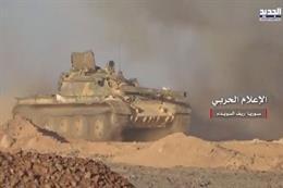 بالفيديو: مشاهد من سيطرة الجيش السوري على نقاط حدودية مع الأردن