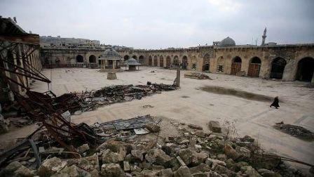 إعادة إعمار المسجد الأموي في حلب!