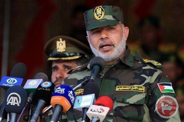 محاولة اغتيال قائد القوى الأمنية في قطاع غزة