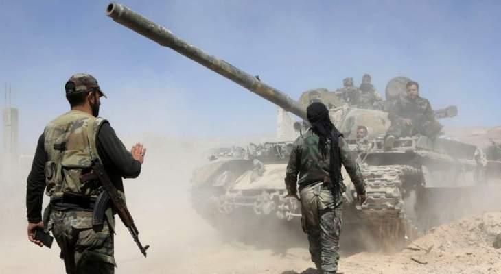 الجيش السوري دمر أوكارا لمسلحي