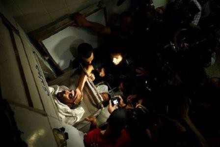 العدو الإسرائيلي يرتكب مجزرة في غزة!
