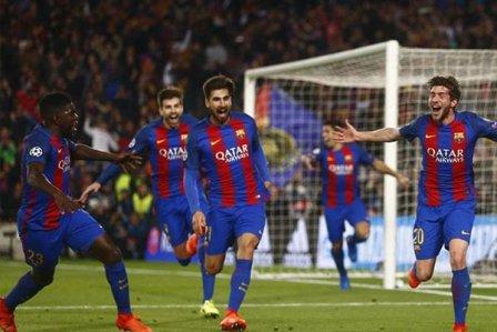 برشلونة يخسر جهود سيرجي روبرتو وأندري غوميز