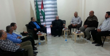 حماس تستقبل وفداً من حركة فتح