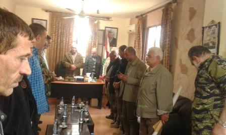 اجتماع لقيادة الامن الوطني الفلسطيني لبحث الاوضاع الامنية في عين الحلوة