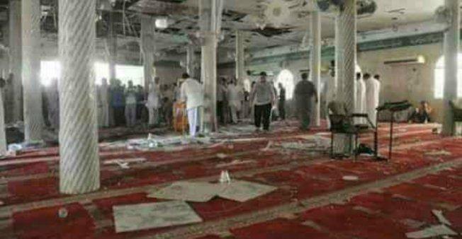 ارتفاع حصيلة قتلى الهجوم على مسجد الروضة إلى 305