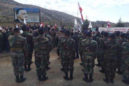 رفع العلم اللبناني عند بوابة مزارع شبعا!