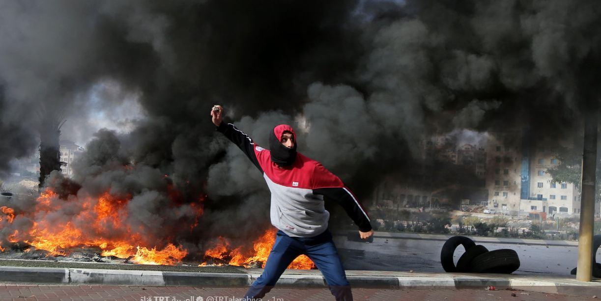 اوّل شهيد فلسطيني في تظاهرات الغضب!