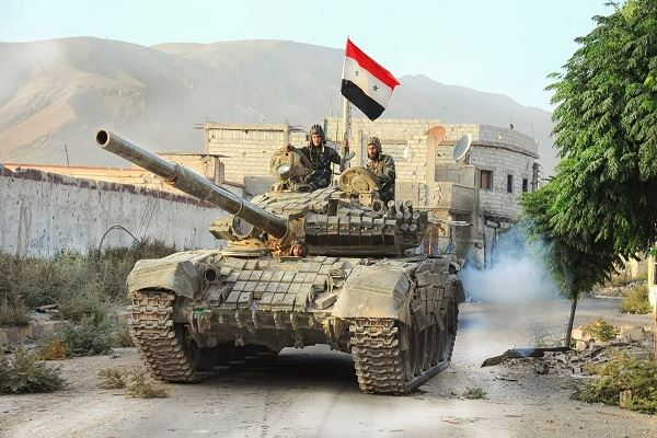 الجيش السوري يحكم سيطرته على تلال في ريف دمشق
