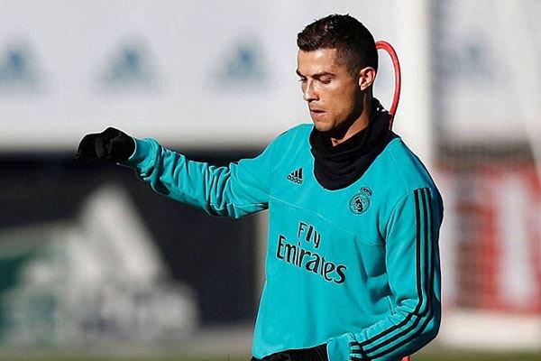 رونالدو يعود لتمارين ريال مدريد