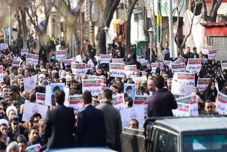 إيران.. تظاهرات مؤيدة للحكومة بعد إحتجاجات ضدّها