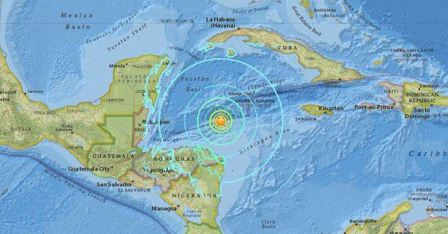 زلزال قوي يضرب سواحل هندوراس وتحذير من تسونامي