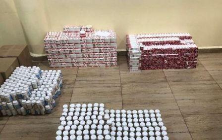 بالصور- ادوية مهربة الى لبنان داخل خزانات شاحنة